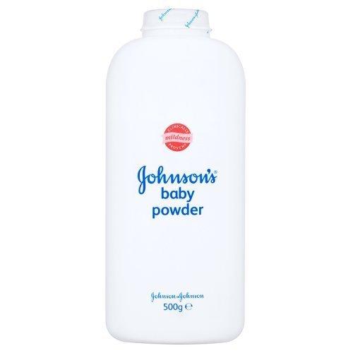 6 x Johnson's Babypulver – Classic - 500 g