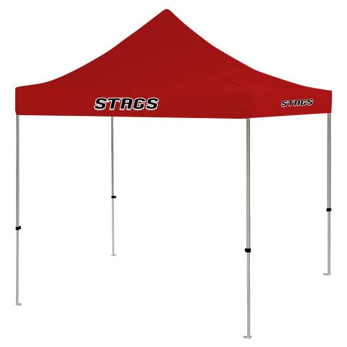 CollegeFanGear Fairfield 9 ft x 9 ft Red Tent 'Stags' -