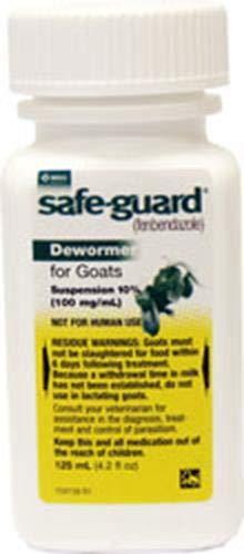 Merck Safeguard Goat Dewormer, 125ml ()