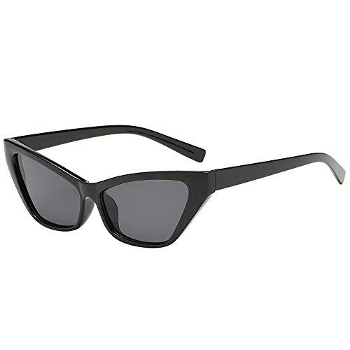 Price comparison product image AMOFINY Fashion Glasses Women Man Vintage Cat Eye Irregular Shape Sunglasses Eyewear Retro Unisex