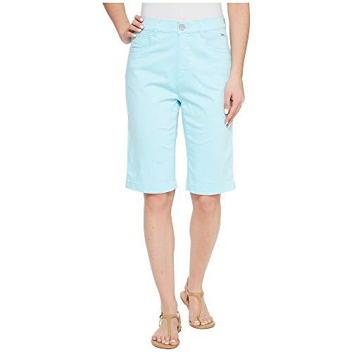抵当こだわり接続された(エフディジェイフレンチ) FDJ French Dressing Jeans レディース ボトムス?パンツ ショートパンツ Sateen Suzanne Bermuda in Aqua [並行輸入品]