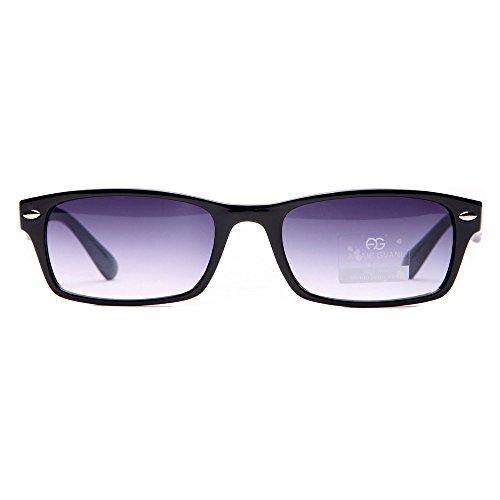 MKY Classic Small Rectangular Sunglasses Narrow - Frame Sunglasses Womens Small