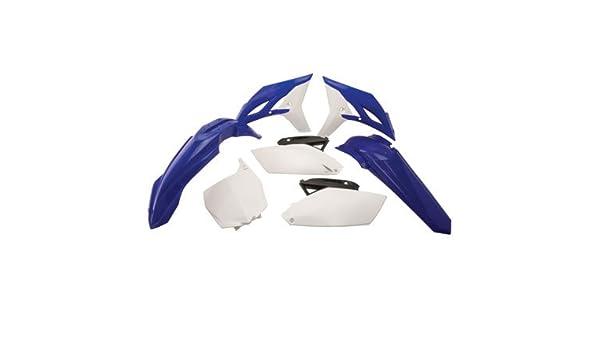 Polisport Plastic Kit Set Blue White Complete Yamaha YZ250F 2010-2013