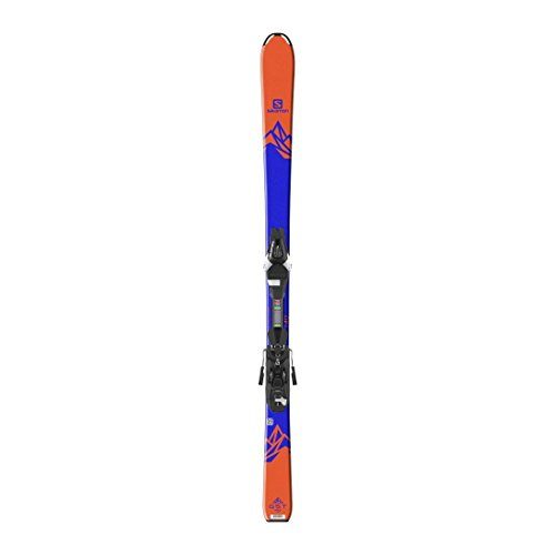 - Salomon QST Max Jr Skis w/ Easytrak L7 Bindings Kid's Sz 130cm