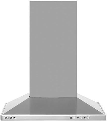 Samsung HC6147BX 60 cm chimenea campana – Acero inoxidable. Da claramente vista a tu cocina y crear una luz ambiental en la cocina: Amazon.es: Grandes electrodomésticos