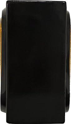 Buyers Products LB384 Single Oval Light Box Black Powder Coat Steel