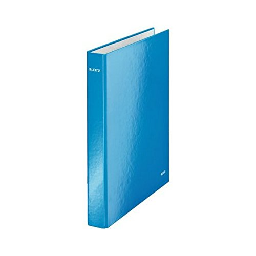 Leitz WOW 4-ring binder Blu raccoglitore ad anelli 42440036