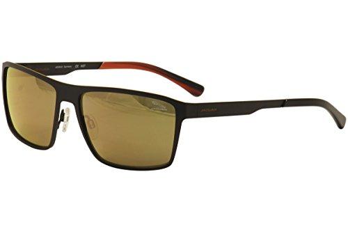 Jaguar Men's 37805 37/805 1018 Black/Orange Fashion Sunglasses - Jaguar Sunglasses