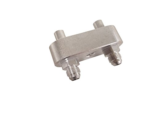 LSX Innovations -6 AN 6L80E 6L90E Oil Cooler Manifold Fitting ()