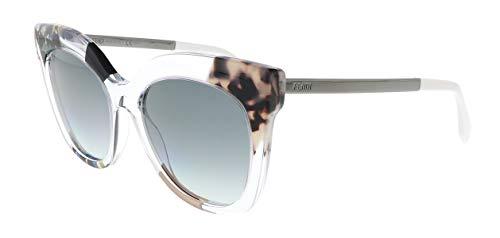 Sunglasses Fendi Ff 179/S 0TDW Crystal Ruthenium/JJ gray gradient ()