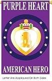 Purple Hearts Garden Flag Indoor/outdoor 13.5″ X 18″
