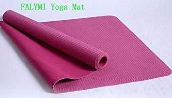 MHKJ FALYMI 1mm Grueso Color Púrpura Duradero TPE Yoga MATS ...
