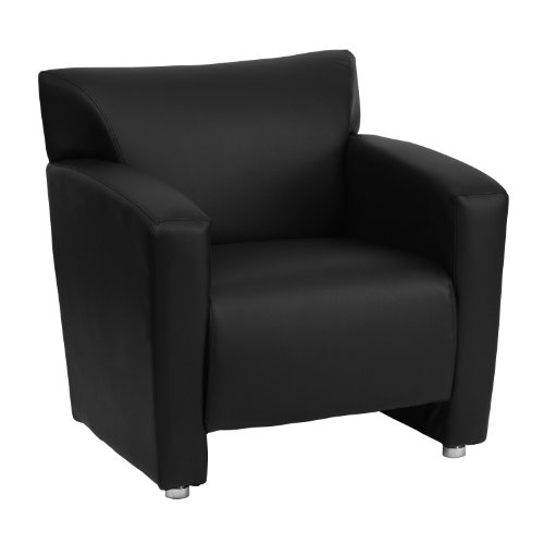 - Flash Furniture HERCULES Majesty Series Black Leather Chair