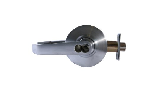 Schlage AL80JD SAT 626 (FSIC) Series AL Grade 2 Cylindrical Lock, Storeroom Function, Full Size Interchangeable Core, Saturn Design, Satin Chrome Finish by Schlage Lock Company