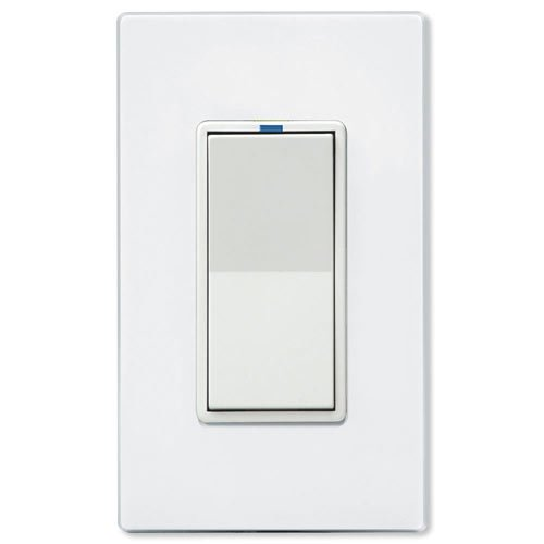 PCS PulseWorx UPB LED/CFL Dimmer Wall Switch, 1000W, White (WS1DL-10-W)