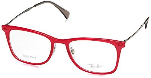 Ray-Ban RX7086 Eyeglasses Red - Ban Prescription Eyeglasses Red Ray