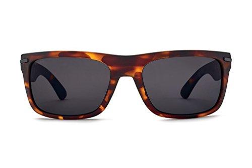 Matte Rectangular Men's Sunglasses Grey polarized Grip Kaenon 12 Polarized Tortoise Ultra Burnet ItTqxdwdY