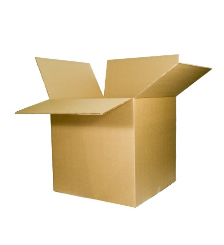 EcoBox 24 x 24 x 24 Inches 275# Double Wall Corrugated Box (1 Box)