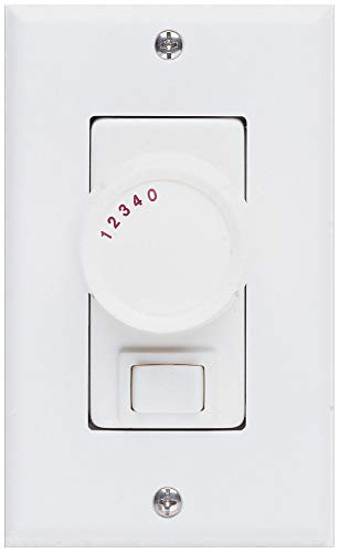 Concord Fans PD-006-IV Accessory - 4-Speed Fan Wall Control, Ivory Finish