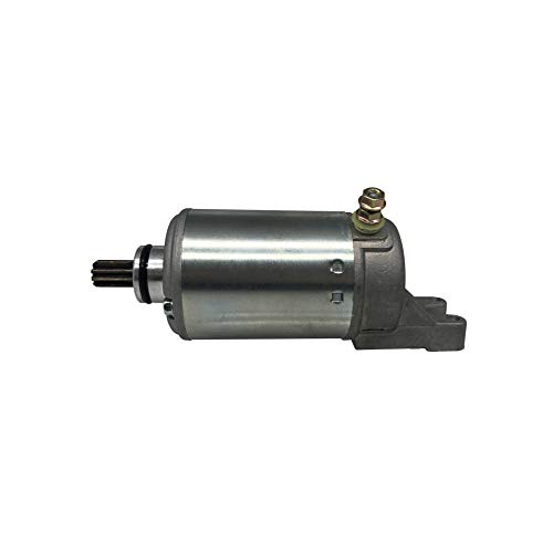 (SHUmandala 18819 Starter Motor for Bombardier Traxter 500 420-296-125 711-296-120 711-296-125/ John Deere Buck 500 C420-296-125/ Denso 228000-9810 ATV UTV 498cc )