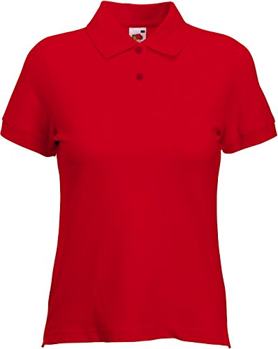Polo Modello Of Loom Rosso Premium Fruit Lady The fit TO7HqcR