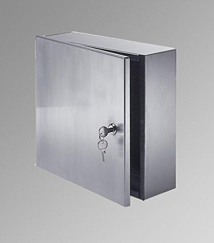 Acudor ASVB Surface Mounted Valve Box 8 x 8 x 6 with Plexiglass Vision Panel, White