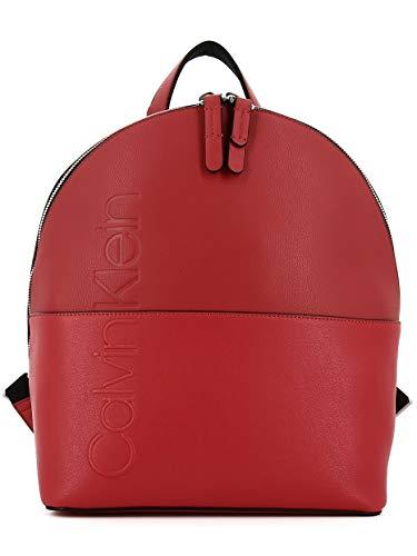 Calvin Bolso Mochila Mujer Rojo Para Klein rPrxqFgp