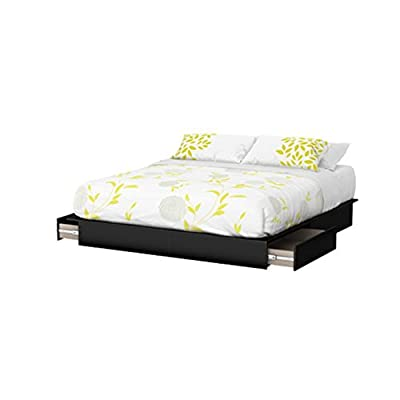South Shore Step One Collection Storage Platform Bed