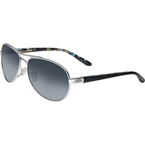 Used, Oakley Women's Tie Breaker OO4108-02 Polarized Aviator for sale  Delivered anywhere in USA