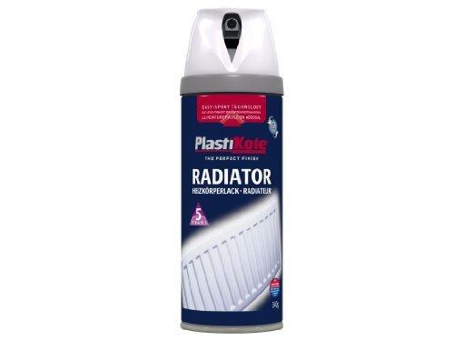 (Plasti-kote 26100 400ml Radiator Gloss - White by Plasti-Kote)