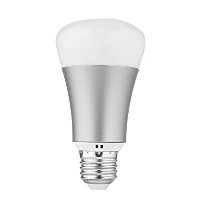 7 W Coloré RGB LED Sans Fil WiFi Ampoule Dimmable Intelligent Lampe Décoration de La Maison Lumière Appui Contrôle de la Voix APP