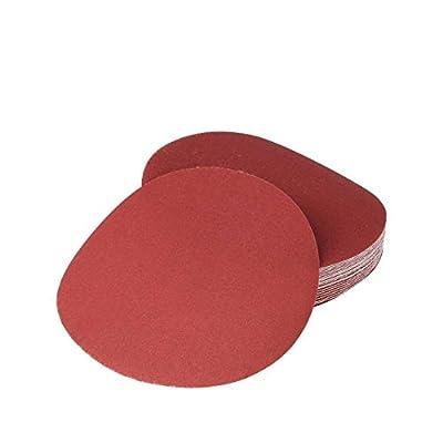 Rannb Hook & Loop Discs Sanding Disc Sandpaper Discs 7 Inch 240 Grit -20pcs