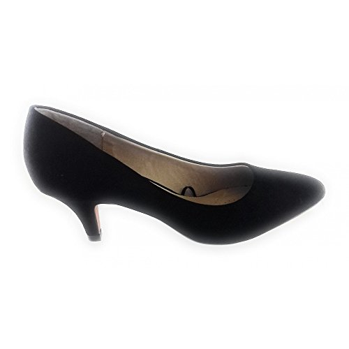 Lotus WoMen Clio Closed Toe Heels Black (Black Box)