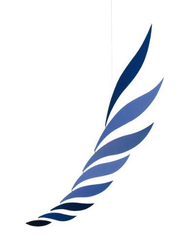 Flensted Mobiles Medium Blue Rhythm Hangingモバイル – 39インチ – アルミ B002VQQPIW