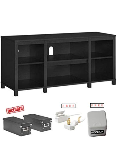 - Parson Cubby TV Stand for Flat Screen TV up to 50