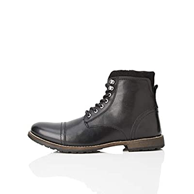 Amazon Brand - find. Men's Leather: Shoes