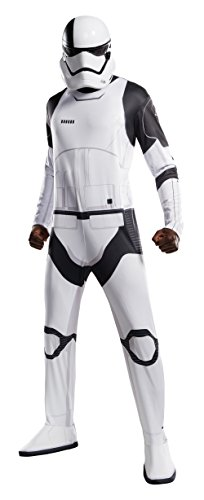 Uni Halloween Costume (Rubie's Star Wars Episode VIII: The Last Jedi Uni-Sex Executioner Trooper Costume  White/Black )