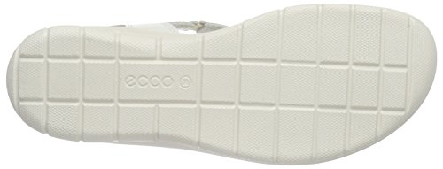 ECCO Footwear Womens Babett Cross Sandal Dress Sandal, Shadow White, 41 EU/10-10.5 M US Photo #4