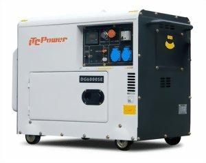 ITC DG6000SE - Generatore di corrente diesel professionale, 5500 Watt
