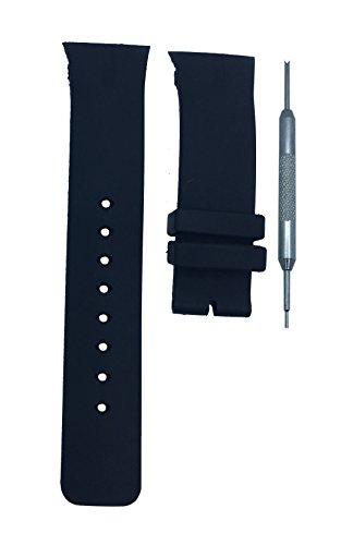 Unisex Orange Silicone Strap LED Watch Set of 2 - 8