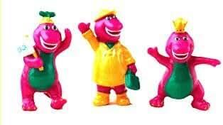 Cake Art - Barney Figurines 4CT