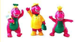 (Cake Art - Barney Figurines)