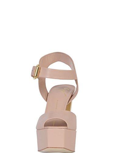 GIUSEPPE ZANOTTI DESIGN FEMME E6020764335NUDE ROSE CUIR SANDALES