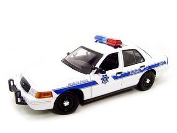 Amazoncom Arizona Highway Patrol Car Ford 118 Diecast Toys  Games