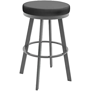 this item swivel metal counter stool inch magnetite stools with arms wood seat black