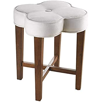Amazon Com Hillsdale Furniture 50958 Clover Vanity Stool
