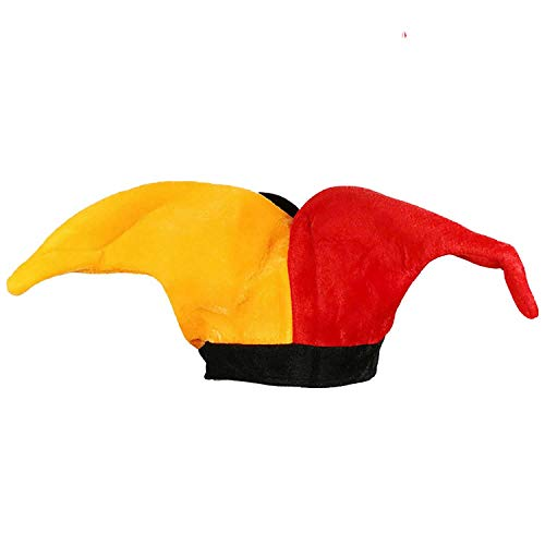 1Pieces Multicolor Clown Jokers Hat Bells Party Costume Accessories Party Mardi Gras,Olive