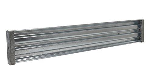 (Vestil GGR-LO-8 Galvanized Drop-In Structural Guard Rail, 89-7/8