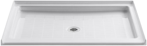 KOHLER K-9026-0 Purist Shower Receptor, White (Shower Finish Receptor)