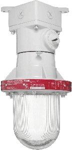 RAB Lighting EX12 Explosionproof Incandescent Ceiling, PS-25 Type, Aluminum, 300W Power, 4 Hubs, 1/2'' Hub